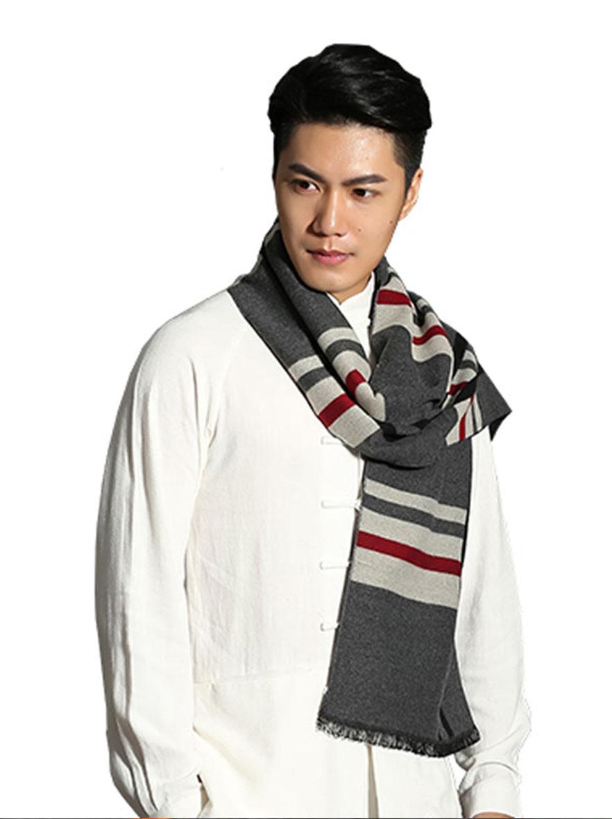 ZH7001 格调魅力围巾双人装