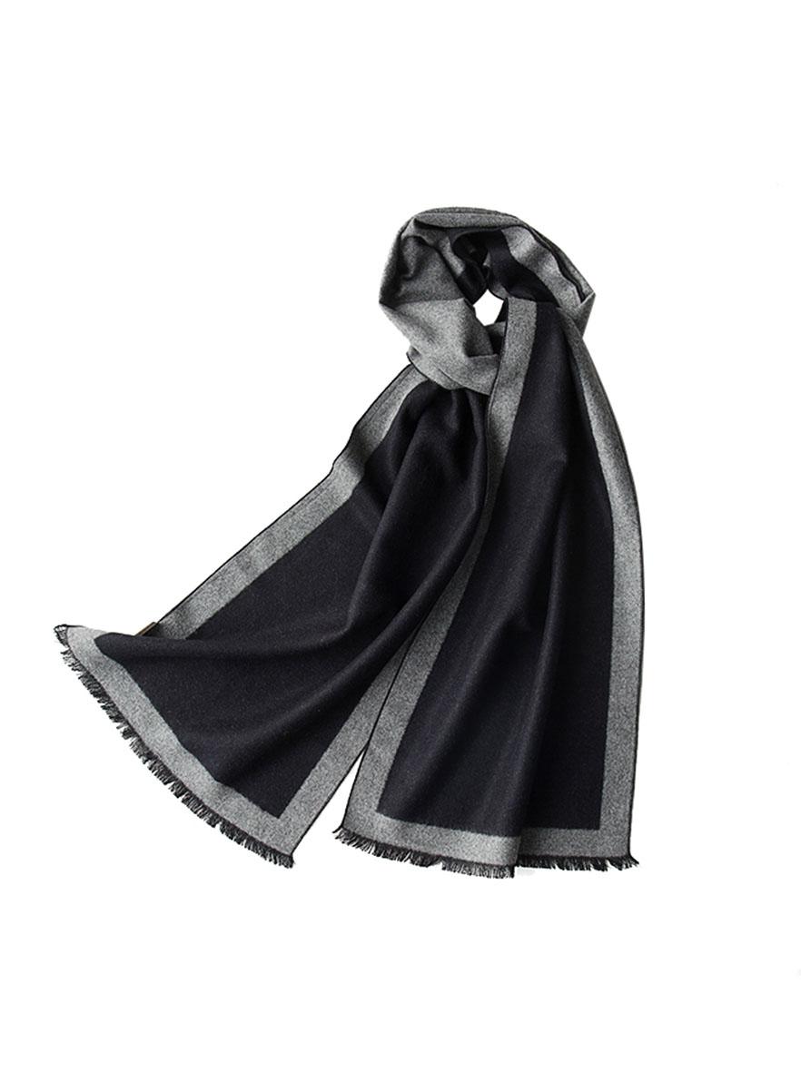 A-D329 简约主义蚕丝绒围巾